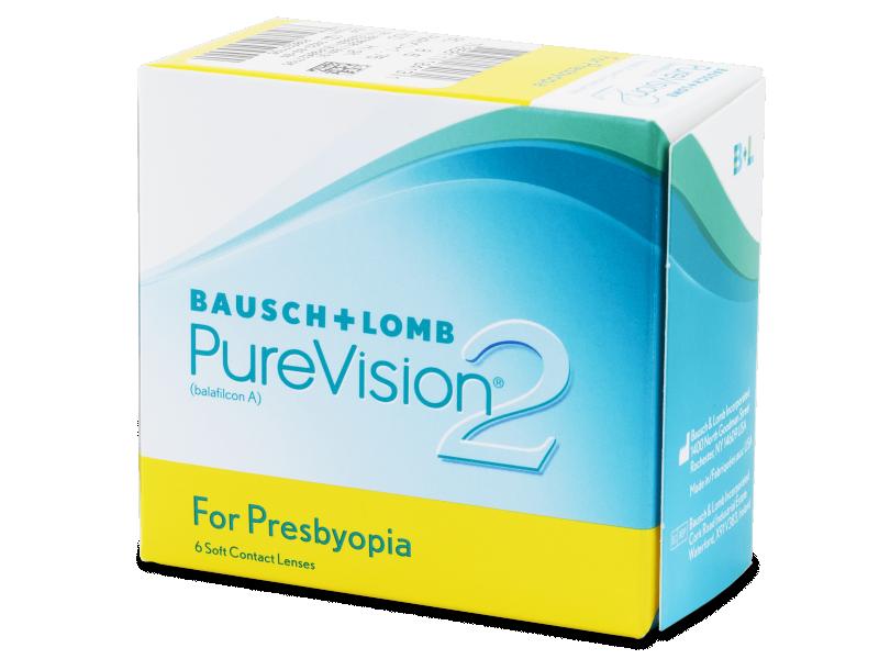 Purevision 2 for Presbyopia 6 čoček