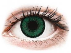 Zelené kontaktní čočky - dioptrické - SofLens Natural Colors Amazon - dioptrické (2čočky)