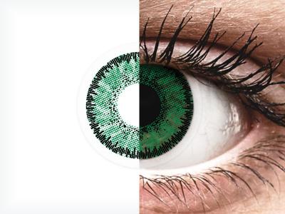SofLens Natural Colors Emerald - nedioptrické (2čočky)