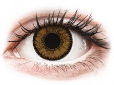 Hnědé kontaktní čočky - nedioptrické - SofLens Natural Colors India - nedioptrické (2čočky)