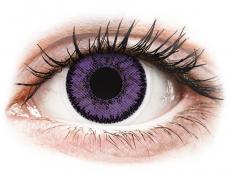 Měsíční kontaktní čočky - SofLens Natural Colors Indigo - nedioptrické (2čočky)