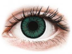 Zelené kontaktní čočky - nedioptrické - SofLens Natural Colors Jade - nedioptrické (2čočky)