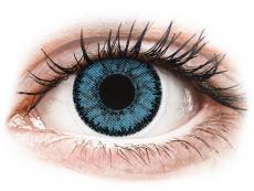 Modré kontaktní čočky - dioptrické - SofLens Natural Colors Pacific - dioptrické (2čočky)