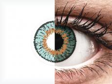 Expressions Colors Aqua - nedioptrické (1čočka)