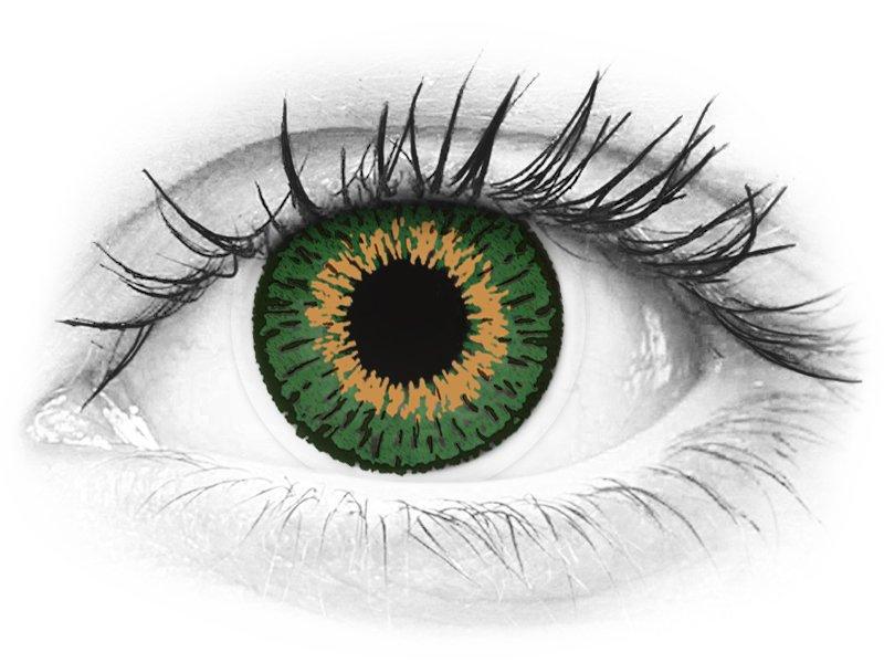 Expressions Colors Green - dioptrické (1čočka)