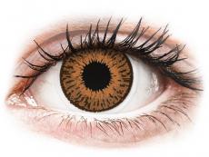 Barevné kontaktní čočky - Expressions Colors Hazel - nedioptrické (1 čočka)