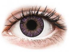 Fialové kontaktní čočky - nedioptrické - FreshLook ColorBlends Amethyst - nedioptrické (2čočky)