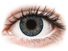 Modré kontaktní čočky - dioptrické - FreshLook ColorBlends Blue - dioptrické (2čočky)