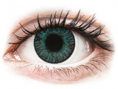 Modré kontaktní čočky - nedioptrické - FreshLook ColorBlends Brilliant Blue - nedioptrické (2čočky)