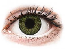 Zelené kontaktní čočky - dioptrické - FreshLook ColorBlends Green - dioptrické (2čočky)