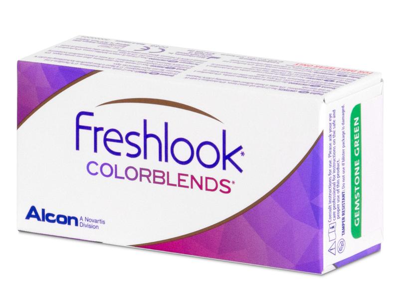 FreshLook ColorBlends Green - nedioptrické (2čočky)