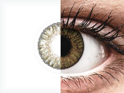 FreshLook ColorBlends Pure Hazel - dioptrické (2čočky)