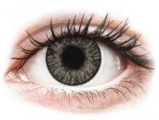 Šedé kontaktní čočky - nedioptrické - FreshLook ColorBlends Sterling Gray - nedioptrické (2čočky)