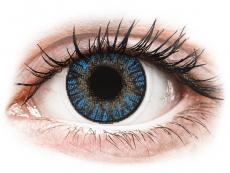 Modré kontaktní čočky - nedioptrické - FreshLook ColorBlends True Sapphire - nedioptrické (2čočky)