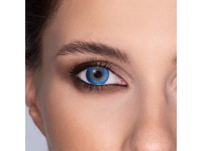 FreshLook ColorBlends True Sapphire - nedioptrické (2čočky)