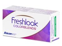 FreshLook ColorBlends Turquoise - dioptrické (2čočky)