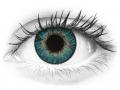 FreshLook ColorBlends Turquoise - nedioptrické (2čočky)