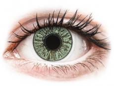 Barevné kontaktní čočky - FreshLook Colors Green - dioptrické (2čočky)