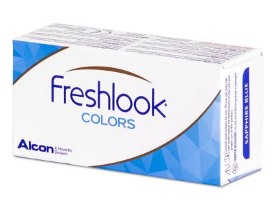 FreshLook Colors Misty Gray - dioptrické (2čočky)