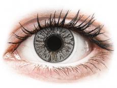 Barevné kontaktní čočky - FreshLook Colors Misty Gray - nedioptrické (2čočky)