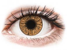 Barevné kontaktní čočky - FreshLook Colors Hazel - dioptrické (2čočky)
