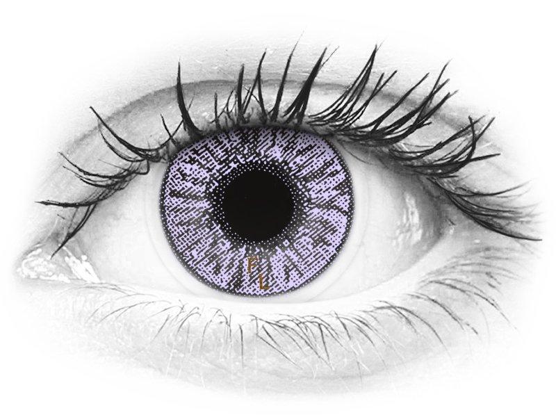 FreshLook Colors Violet - dioptrické (2čočky)