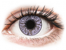 Barevné kontaktní čočky - FreshLook Colors Violet - nedioptrické (2čočky)