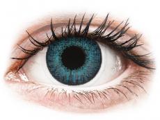 Měsíční kontaktní čočky - Air Optix Colors - Brilliant Blue - dioptrické (2čočky)