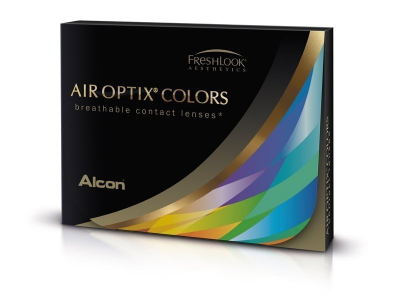 Air Optix Colors - Brilliant Blue - nedioptrické (2 čočky)