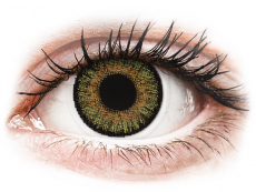 Zelené kontaktní čočky - dioptrické - FreshLook One Day Color Pure Hazel - dioptrické (10čoček)