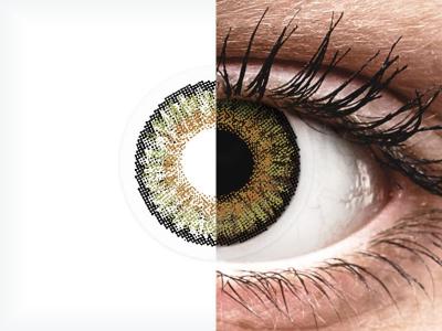 FreshLook One Day Color Pure Hazel - nedioptrické (10čoček)