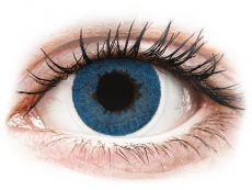 Barevné kontaktní čočky - FreshLook Dimensions Pacific Blue - nedioptrické (2čočky)