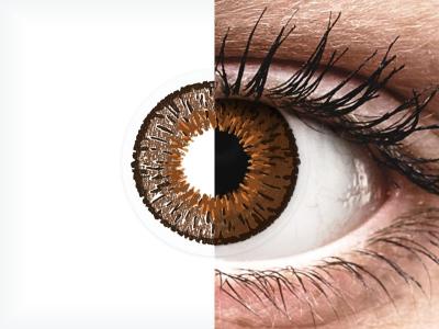 Expressions Colors Brown - dioptrické (1čočka)