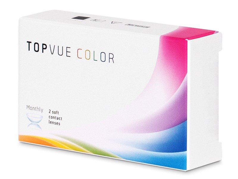 TopVue Color - Violet - dioptrické (2čočky)
