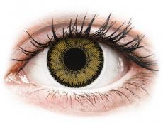 Barevné kontaktní čočky - dioptrické - SofLens Natural Colors Dark Hazel - dioptrické (2čočky)