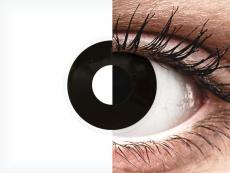 ColourVUE Crazy Lens - Blackout - nedioptrické jednodenní (2čočky)