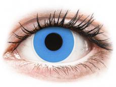 Barevné kontaktní čočky - ColourVUE Crazy Lens - Sky Blue - nedioptrické jednodenní (2čočky)