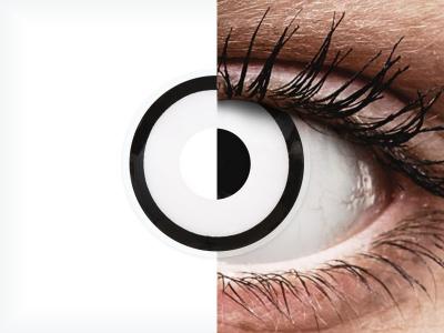 ColourVUE Crazy Lens - White Zombie - nedioptrické jednodenní (2čočky)