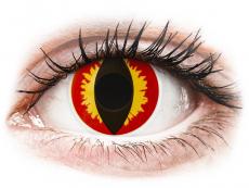 Barevné kontaktní čočky - ColourVUE Crazy Lens - Dragon Eyes - nedioptrické jednodenní (2čočky)