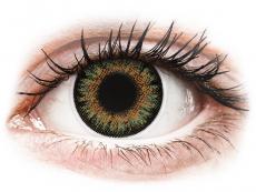 Zelené kontaktní čočky - dioptrické - ColourVue One Day TruBlends Green - dioptrické (10čoček)