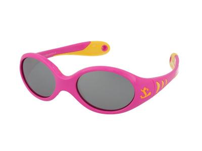 Sluneční brýle Kid Rider KID77 Pink/Yellow
