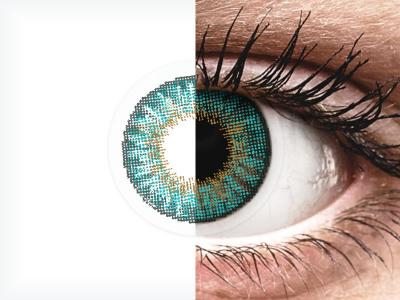 Air Optix Colors - Turquoise - nedioptrické (2 čočky)