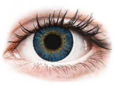 Měsíční kontaktní čočky - Air Optix Colors - True Sapphire - dioptrické (2čočky)