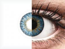 Air Optix Colors - True Sapphire - nedioptrické (2 čočky)