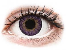 Měsíční kontaktní čočky - Air Optix Colors - Amethyst - dioptrické (2čočky)