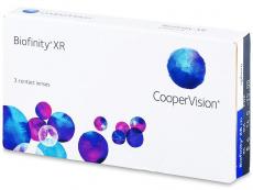 Měsíční kontaktní čočky - Biofinity XR (3čočky)