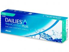 Dailies - Dailies AquaComfort Plus Toric (30čoček)