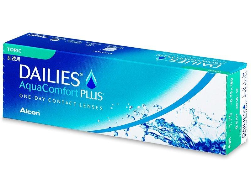 Torické kontaktní čočky - Dailies AquaComfort Plus Toric (30čoček)