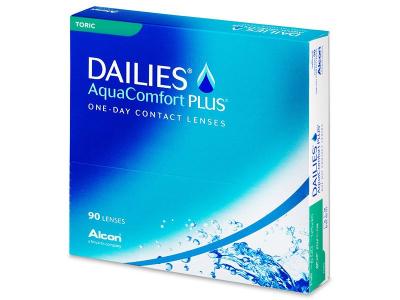 Dailies AquaComfort Plus Toric (90čoček)
