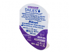 Dailies AquaComfort Plus Multifocal (30čoček) - Vzhled blistru s čočkou